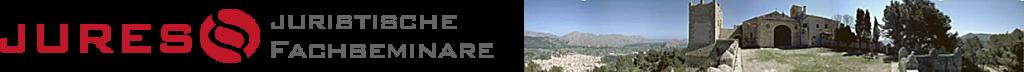 Logo JURES Juristische Fachseminare zur Fachanwaltfortbildung